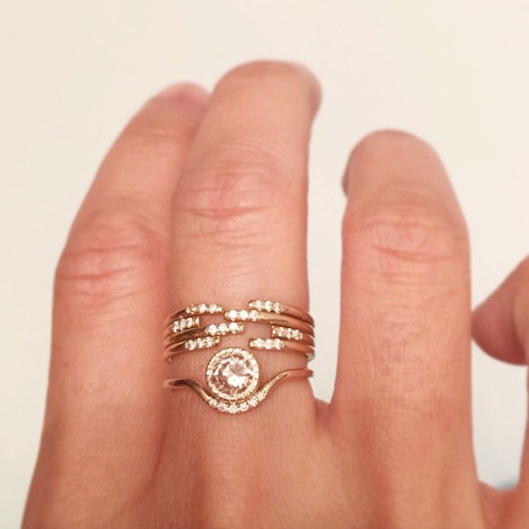 Engagement Rings Wedding Bands that Just Belong Together Jennie
