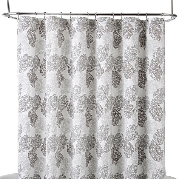 Liz ClaiborneR Speckle Leaf Shower Curtain