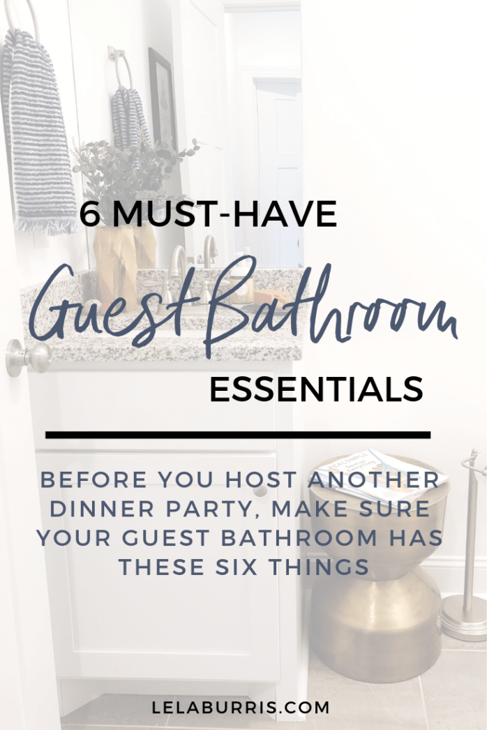 Win The Hostess Of The Year Award By Stocking Your Guest Bathroom With These Six Must Have Essenti In 2020 Guest Bathroom Essentials Guest Bathroom Bathroom Essentials