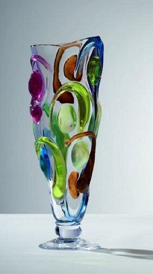Czech glass art . Bořek Šípek