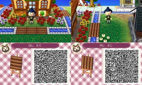Modern Wood Flooring Acnl: Animal Crossing New Leaf Stairs Qr Code