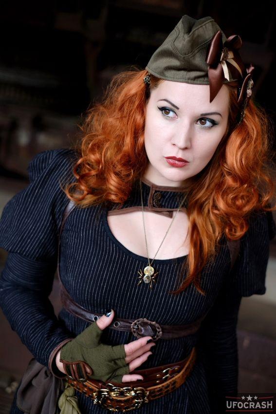 Miss Ginger Steam V by MADmoiselleMeli.deviantart.com on @deviantART