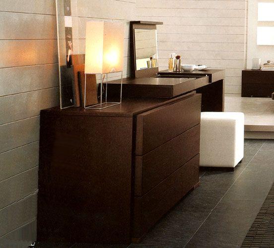 Modern Dresser/vanity Combo