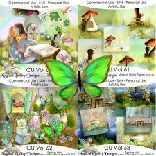 Spring Bundle - CU Vol 64 by MagicalReality Designs #CUdigitals cudigitals.comcu commercialdigitalscrapscrapbookgraphics #digiscrap