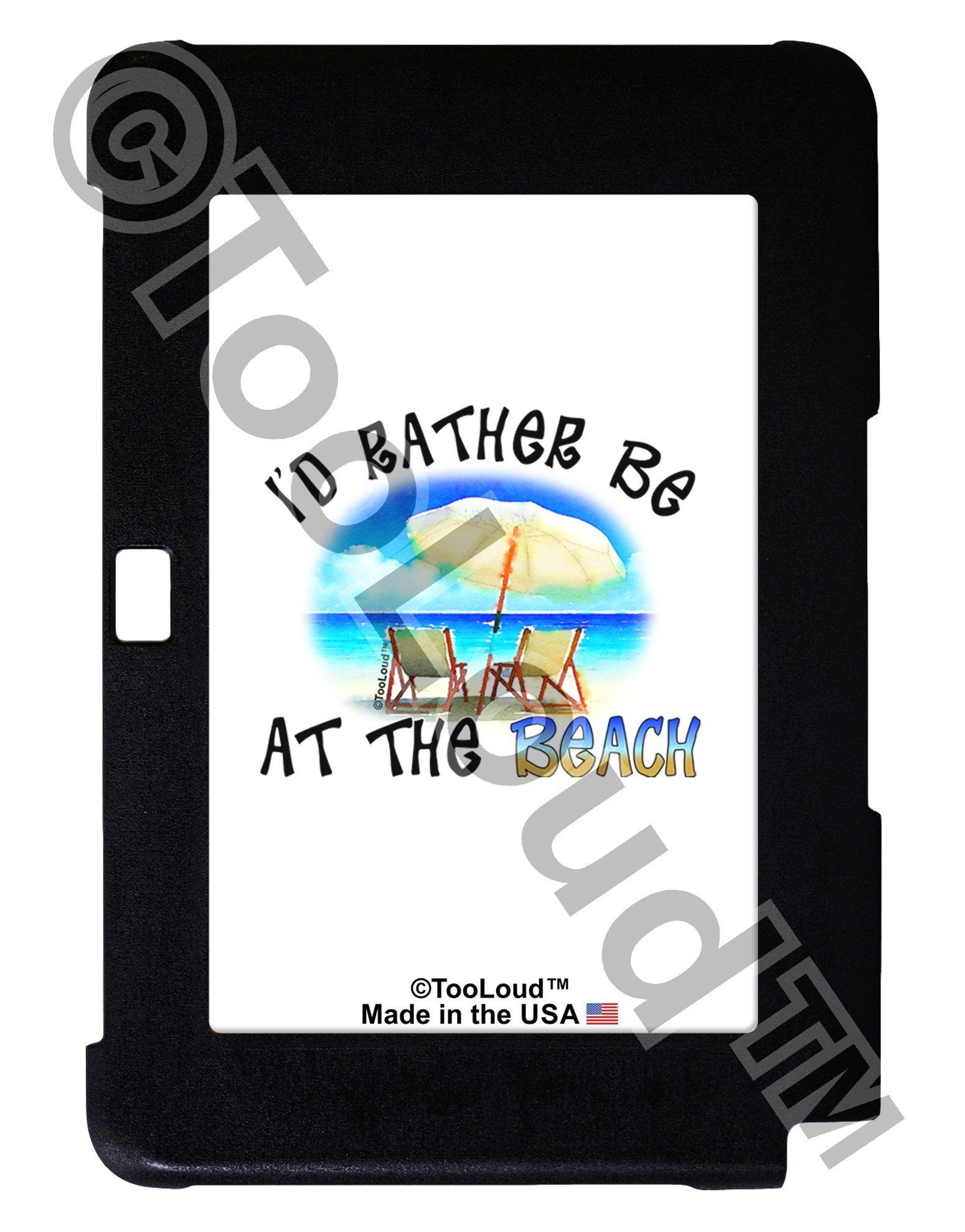 I'd Rather Be At The Beach Galaxy Note 10.1 Case