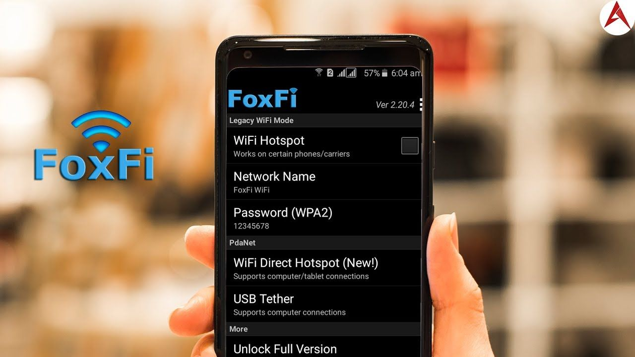 Foxfi Turns Your Phone into a Mobile Hotspot No Rooting Or