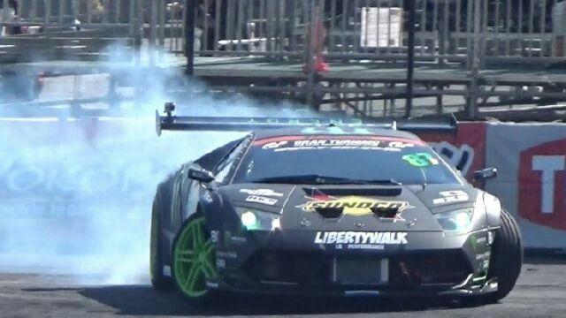 Monster Energy Lamborghini Drift Car Hoonigan Wheelzz Drifting