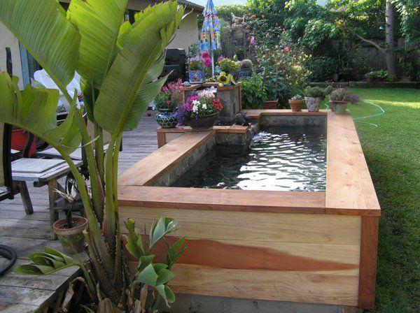 La petite piscine hors sol en 88 photos decoration ext rieure piscine hors sol petite - Petite piscine en bois ...