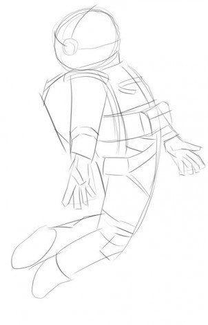 Astronaut zeichnen ⋆ DekoKing - DIY Bastelideen, Dekoideen, Zeichnen lernen #spacedrawings