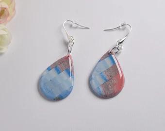 So Pretty Clay Earrings handcrafted by by SoPrettyClayEarrings