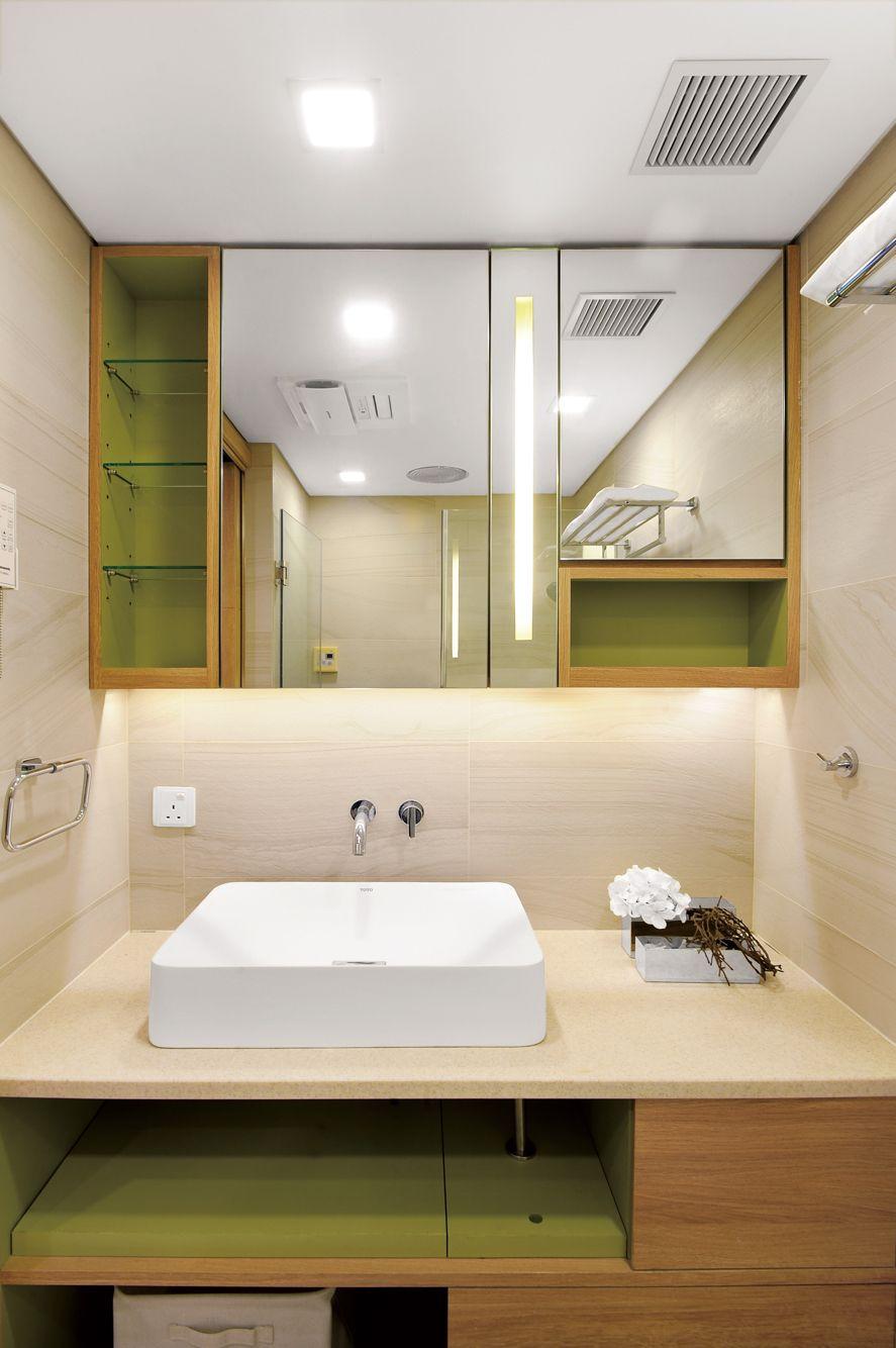 Green Tea Color Scheme For Basin Cupboard Design Island Resort Interior Design Showcase Resort Interior Design Cupboard Design Bathroom Design