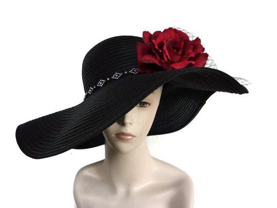 Women's Kentucky Derby Hat Easter Hat by IfTheHatFitsByJackie, $75.00