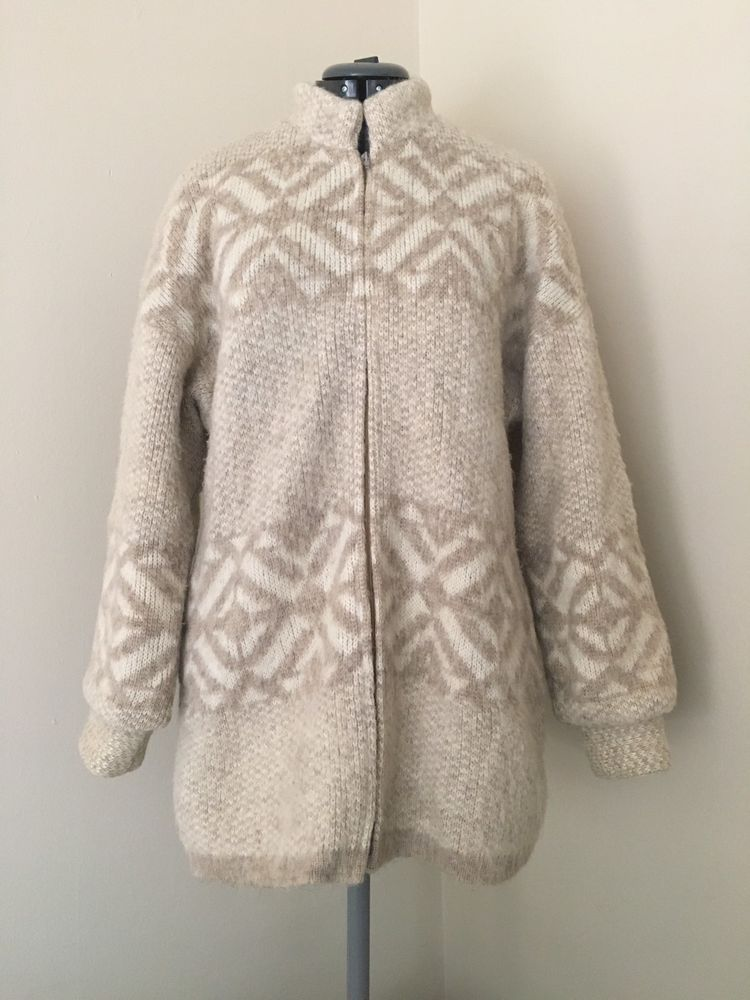 vintage hilda jacket / icelandic wool coat / menswear / M W3zqQzon1