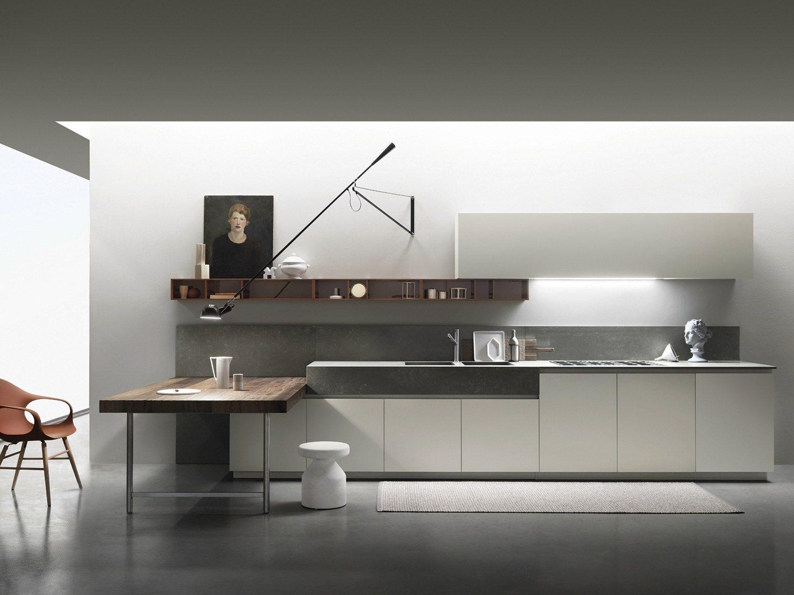 Ernestomeda rinnova la cucina One Un gioco di contrasti tra volumi e ...