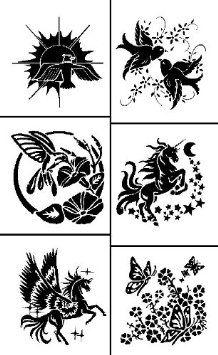 Armour Etch Rub N Etch Stencil Fliers 5 Inch By 8 Inch Glass Etching Projects Glass Etching Stencils Etching