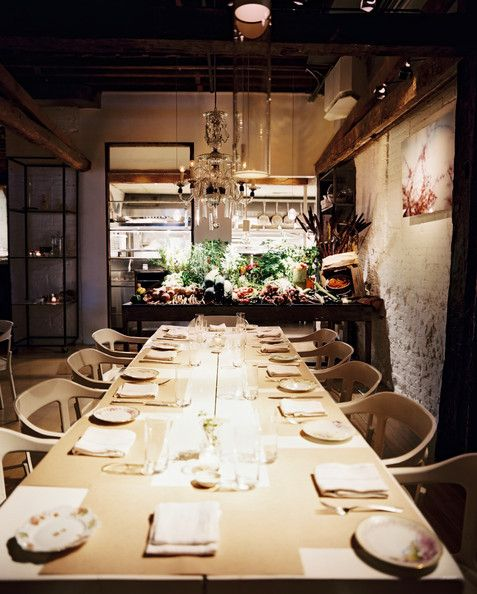 Restaurants Photos With Images Abc Kitchen Communal Rustic
