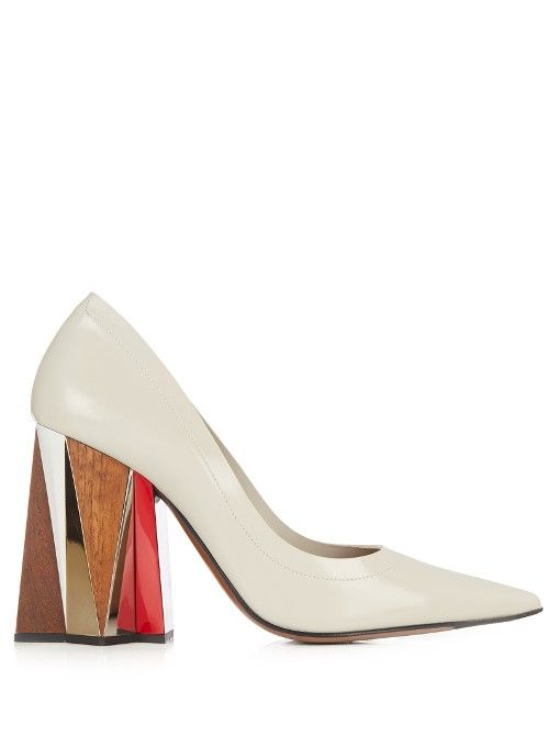 Marni Leather Heels BwT93