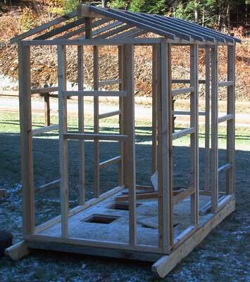 Free permanent ice house plans