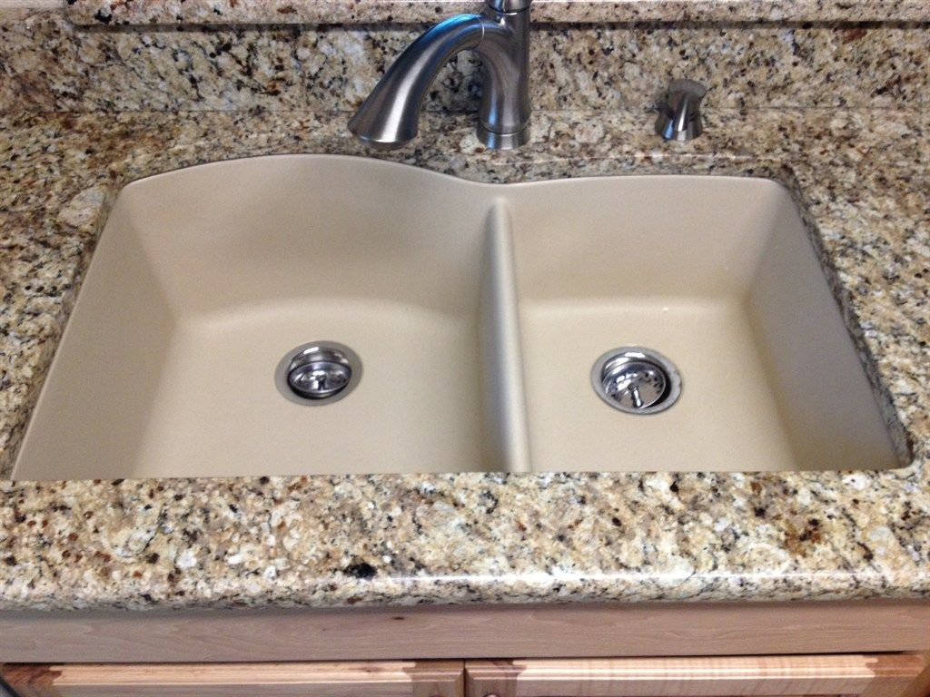 Composite Countertops Kitchen Sinks Undermount Installing Granite Http Harvesthustle