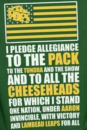 Pledge Allegiance Green Bay Packers Funny Green Bay Packers Football Green Bay Packers Wallpaper
