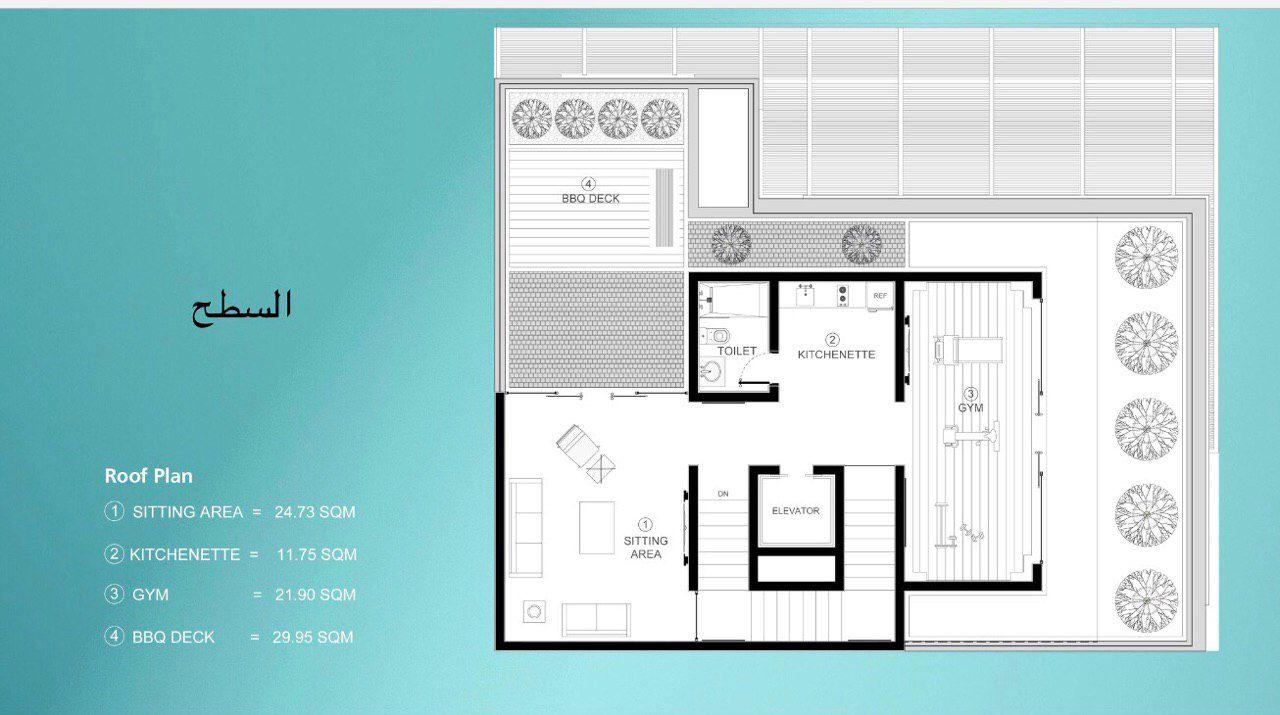 مخططات فلل سبتمبر 24 2019 في 8 10 Pm مخططات فلل فيلا الخزامي تصميم المعماري صالح اللحيدان Small Apartment Bedrooms Small Apartments Floor Plans