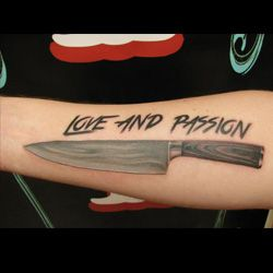 Knife Tattoo Meanings   iTattooDesigns.com   kitchen ink   Pinterest ...