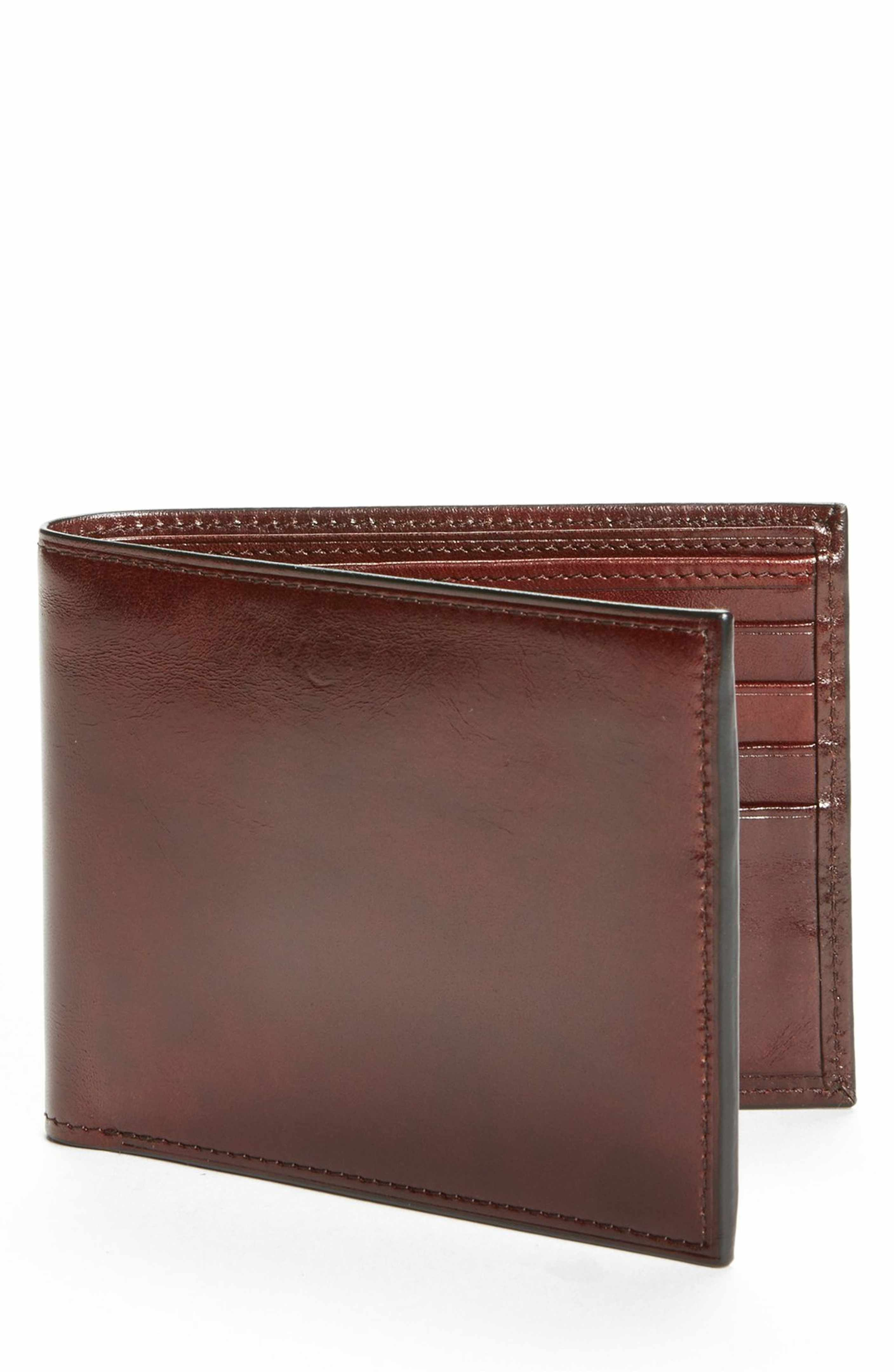 Leather Slimfold Wallet - Love by VIDA VIDA bY1UysP