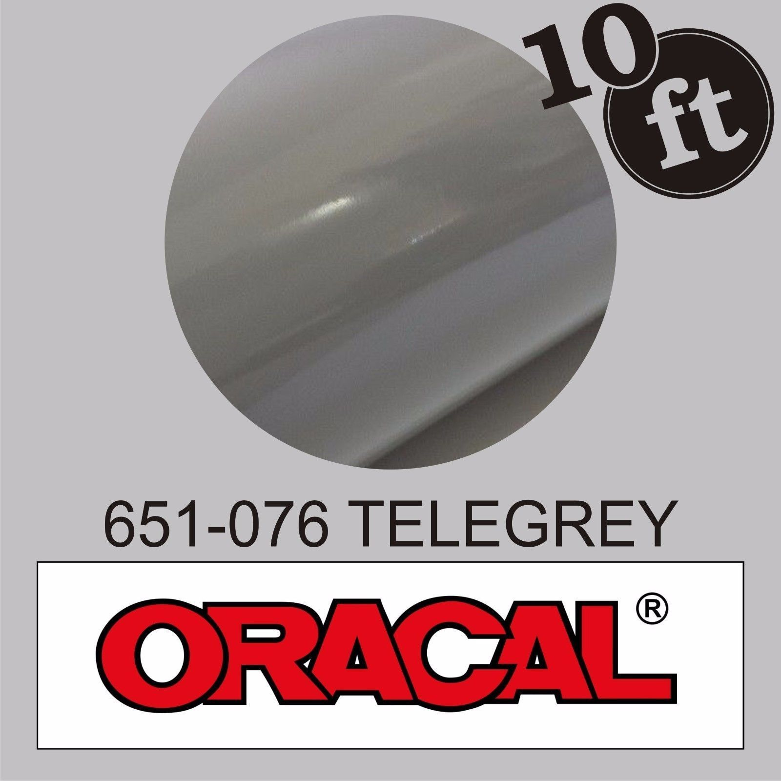 12 In X 10 Ft Gloss Telegrey Oracal 651 Adhesive Vinyl 076 Cutter Plotter Adhesive Vinyl Adhesive Ebay