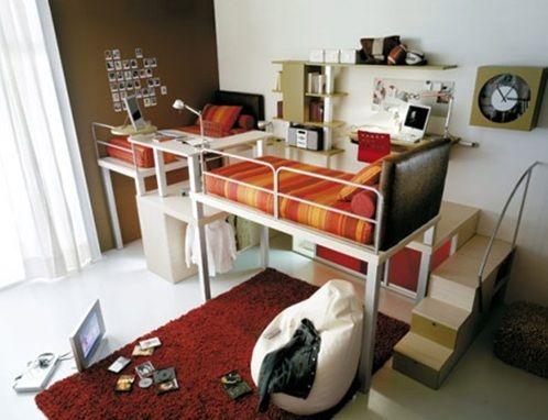 Dormitorios con Camas Loft para Jóvenes Ideas y Fotos cosas