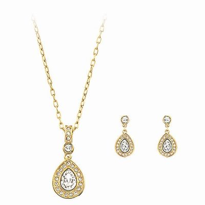 f5aecdfed Swarovski Sensation Gold-plated Jewelry Set(1156258) | fashion ...