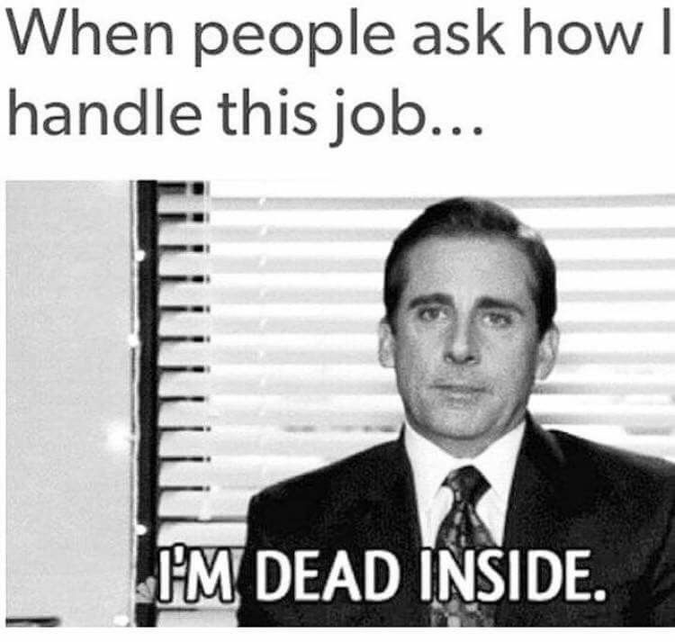 Pin by Michelle Nyree on Laughs Aplenty Job humor, Work