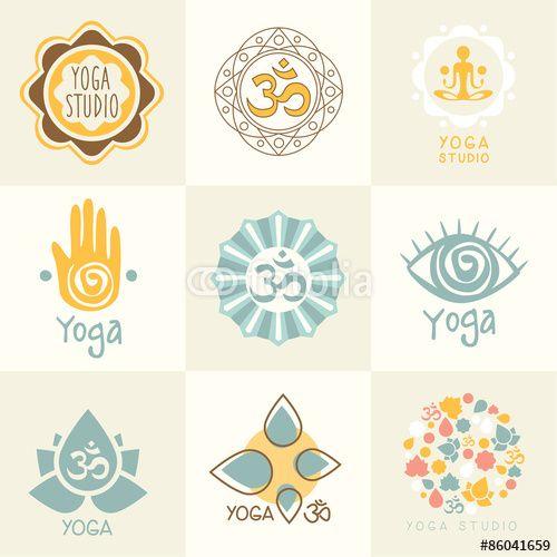 Yoga Signs And Symbols Pesquisa Google Logos Pinterest