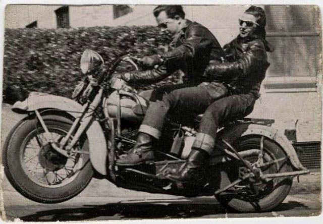 Speedboys 40s 50s Archive Vintage American Motorcycles Vintage Biker Motorcycle Harley Davidson Bikes