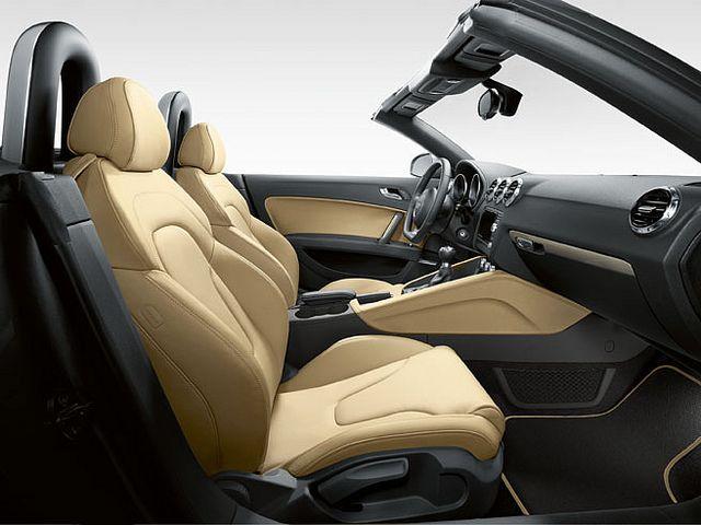 Audi TT Roadster Interior Fine Nappa Leather In Luxor Beige Our - Audi tt roadster car cover