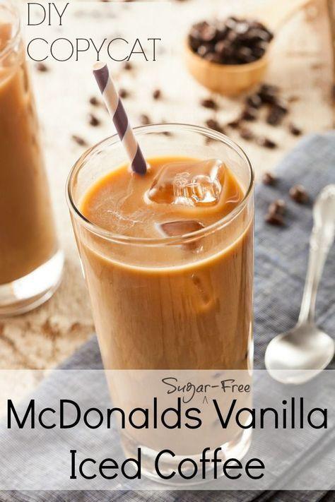 McDonalds Vanilla Iced Coffee