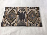 Pottery Barn Chiara Ikat lumbar embroidered pillow cover