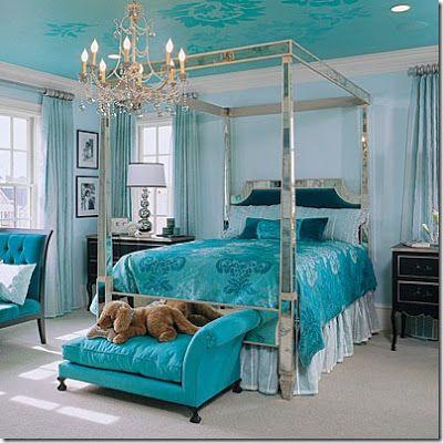 Fotos de Dormitorio Principal de color Turquesa Dormitorios para - diseo de habitaciones para nios