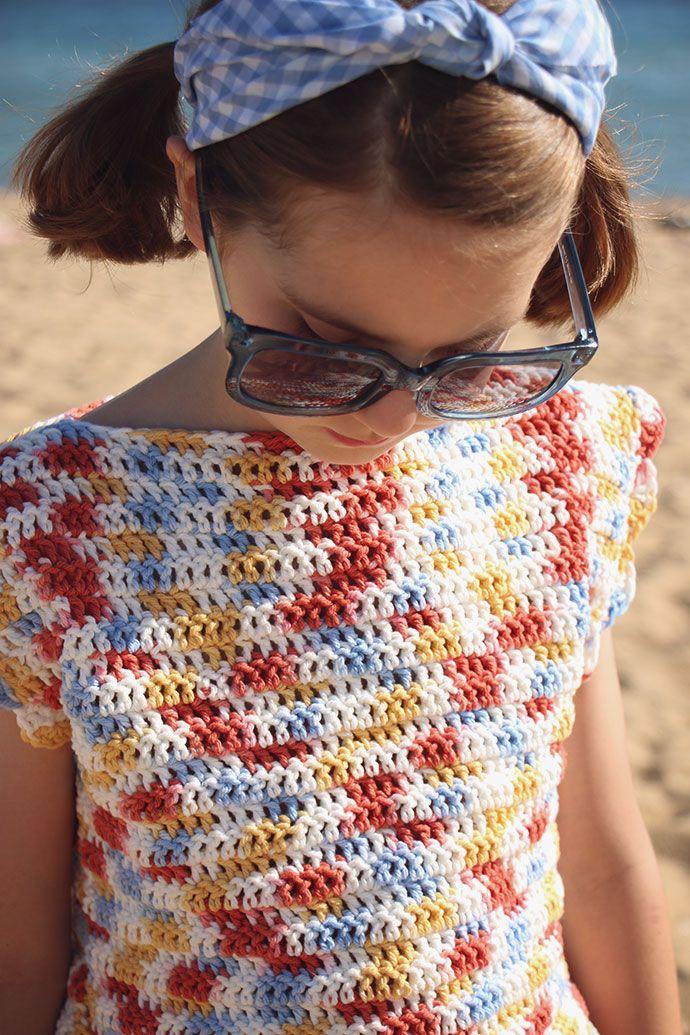 Crochet Pattern: Playtime Top | Free crochet, Crochet and Patterns