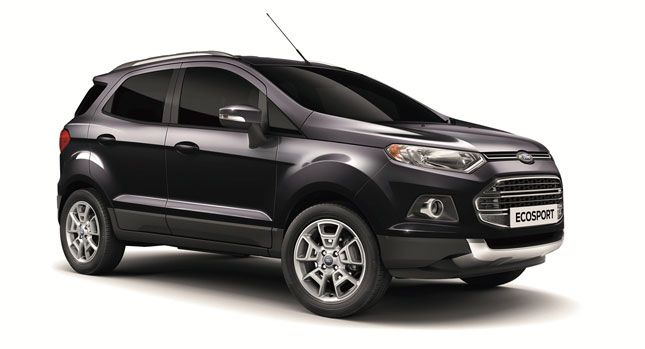 Ford Launches Ecosport In Europe With Limited Edition Model