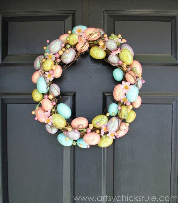 Easter Inspiration - {a wreath - 3 ways | Happy easter, Easter and ...