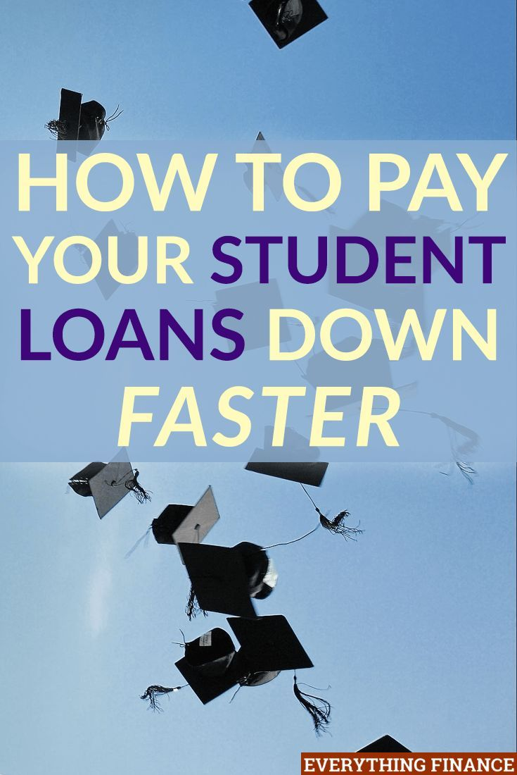 4 things i did to pay down my student loan debt faster