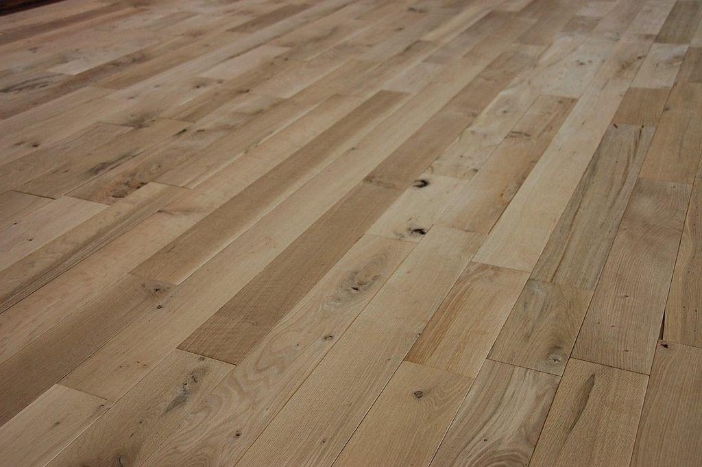 Floors Unfinished White oak Character Grade White oak