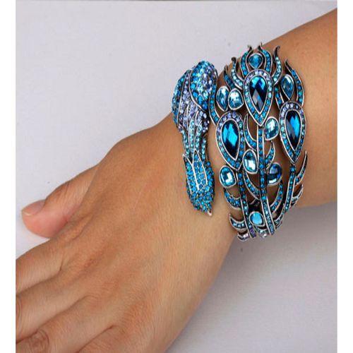 Peacock Crystal Bracelet