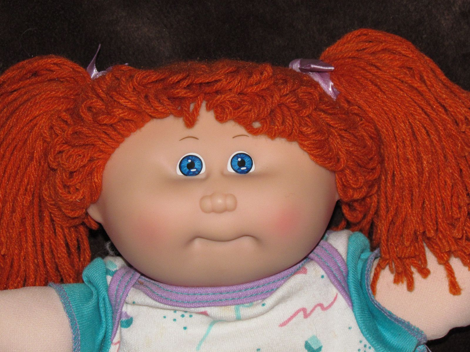 I try to avoid Ebay auctions, but when I saw this adorable redheaded toddler, I knew I had to try for her ! What a nerve-wracking few minutes I went through, before I knew Earlene Nora was now my Daughter !
