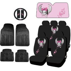 This Listing Includes 1 Complete Set Of Seat Covers 2 Front With Separate Headrest Rear Bench Cover 3