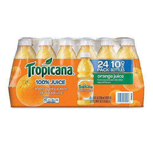 Tropicana 100 Orange Juice (10 oz. bottles, 24 pk.) Trop