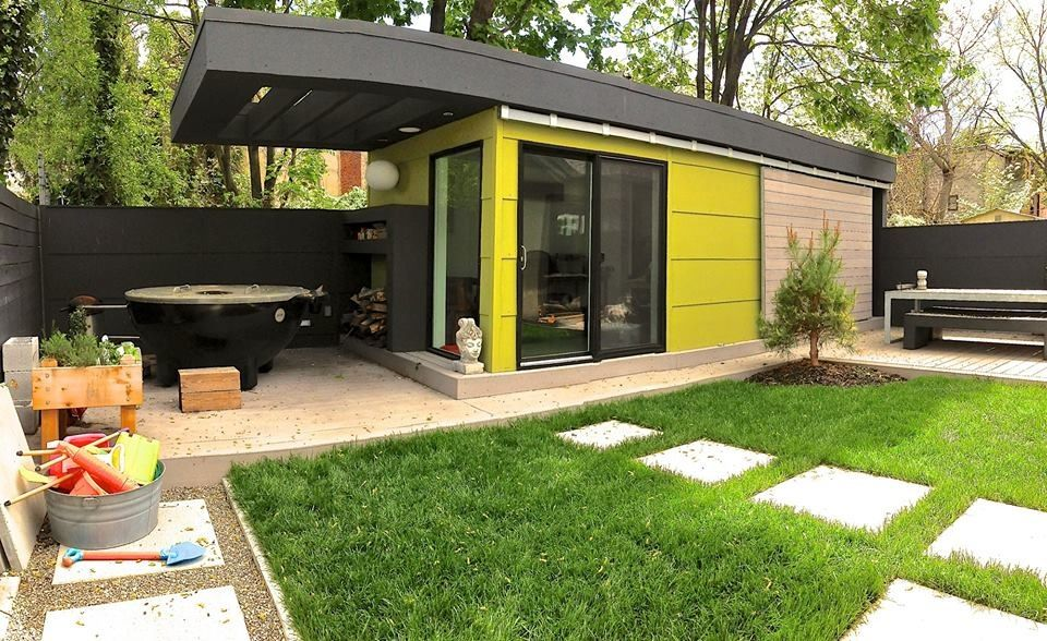Philadelphia Out House Garden Shed Office Contemporary ...