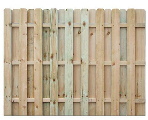 6' H x 8' W Shadow Box AC2 Treated Fence Panel ... - 6' H X 8' W Shadow Box AC2 Treated Fence Panel At Menards Wood
