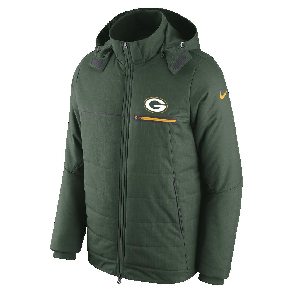 d23f329dc Nike Sideline (NFL Packers) Men s Jacket Size Medium (Green) - Clearance  Sale