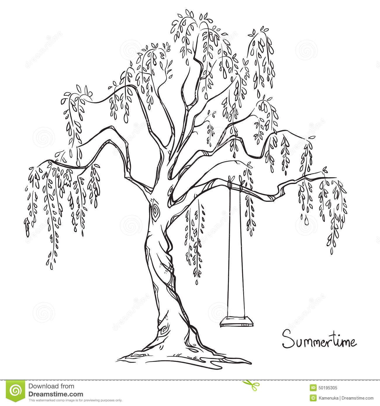 Tree With A Swing Download From Over 40 Million High Quality